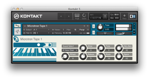 Puremagnetik in its Kontakt avatar version (M4L users see below)