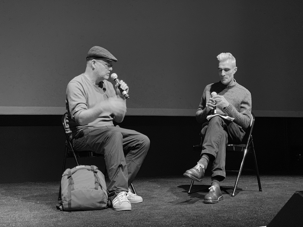 Mark Fell and Thorsten Sideboard in conversation
