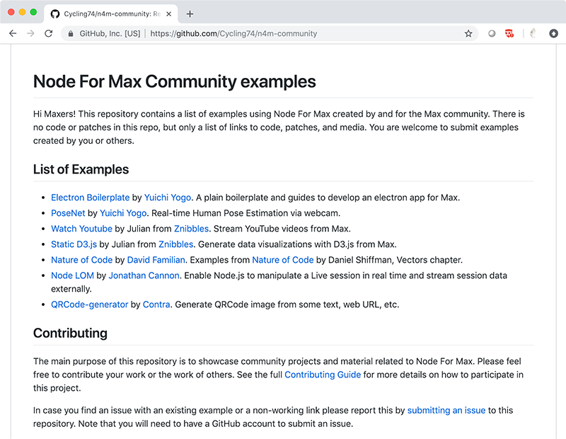 Article: Node for Max Repositories - Mining for Gold