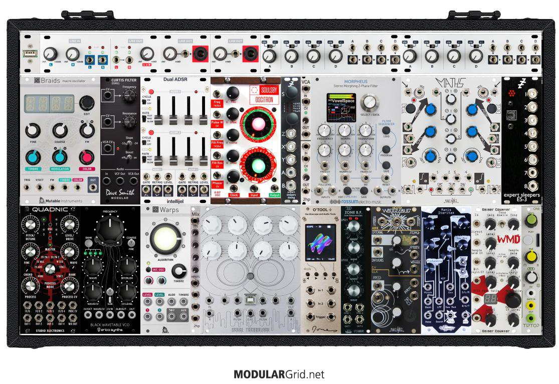 Project: Eurorack Modular Synth with Max/MSP BEAP (❀◕‿◕ฺ