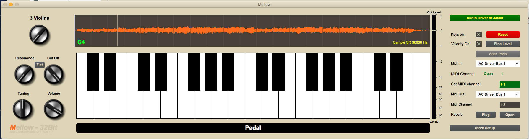 Made with max. Every note was sampled for each voice. Voices are 3.