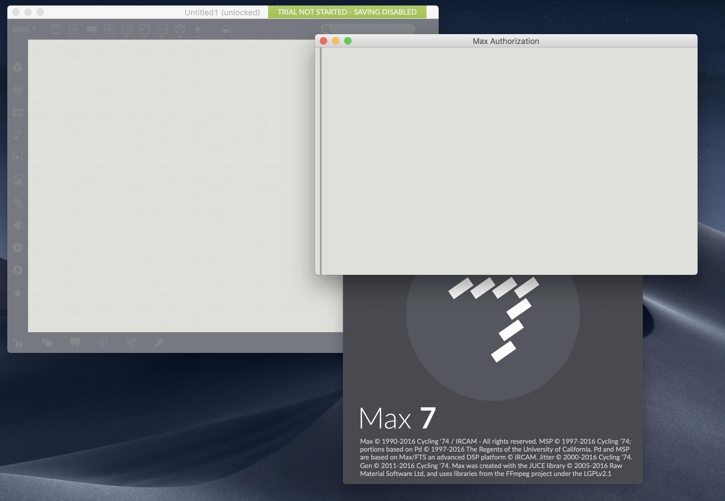 Max 7 Mojave Compatibility (Mac OS 10 14 ) - MaxMSP Forum