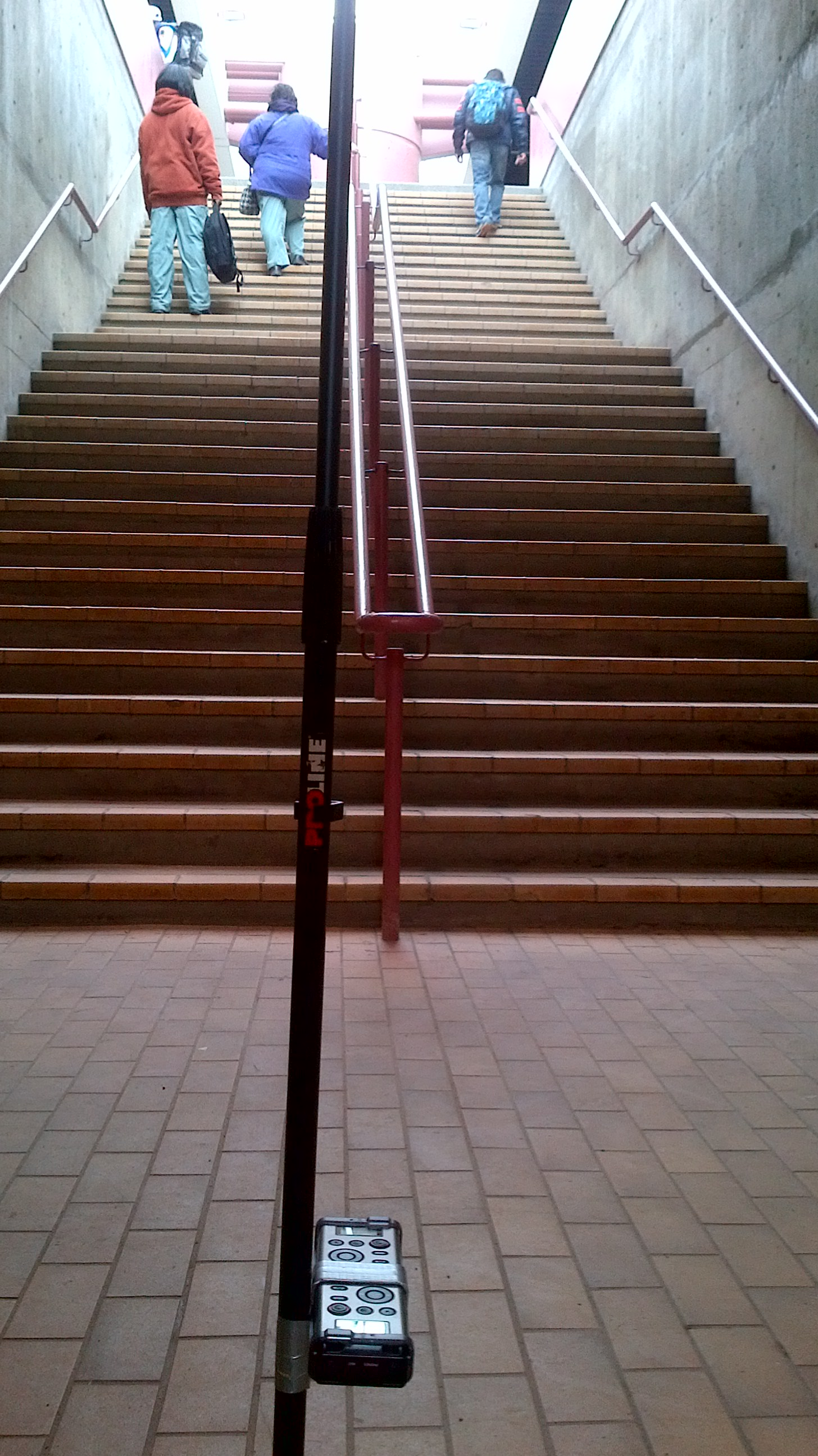 Octophonic Metro Station recording