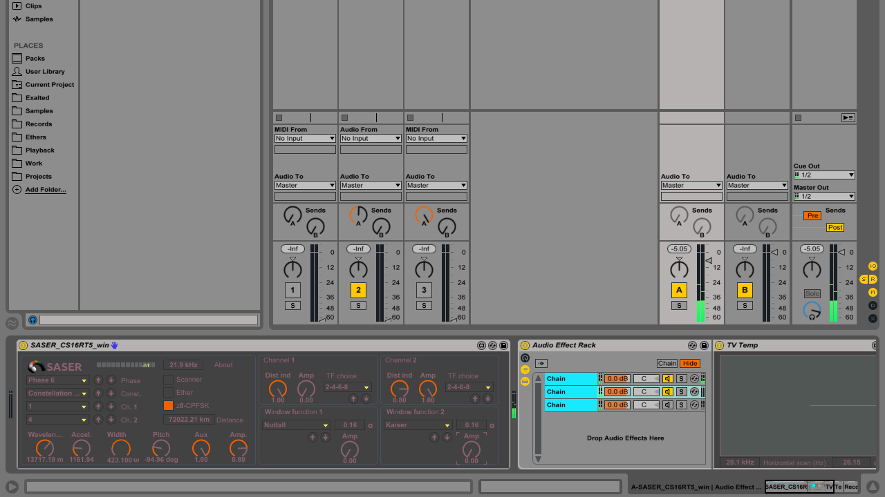 Compositor Window audio engine build SASER CS16RT5 v1.0.0
