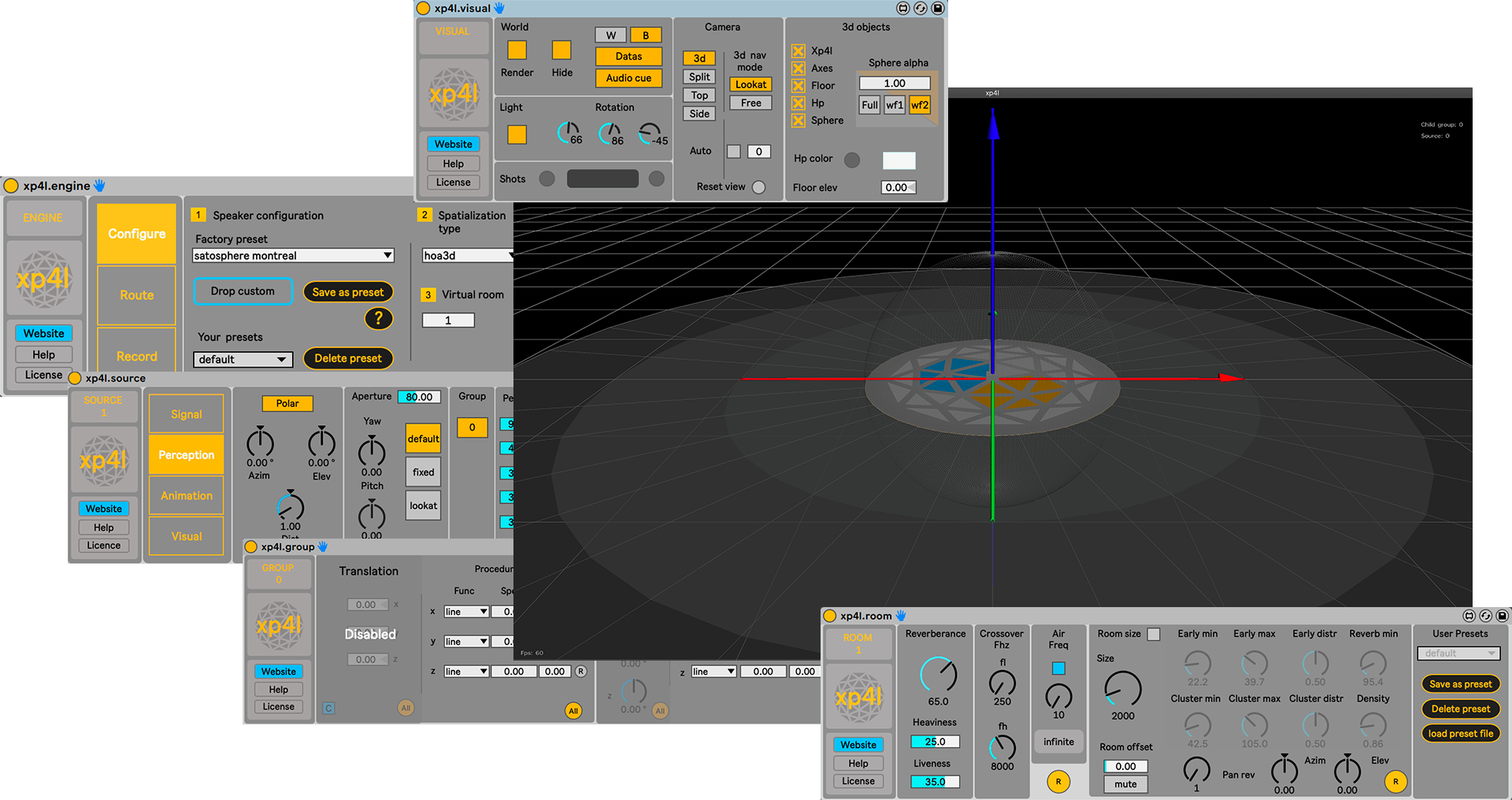 Xp4l : a standalone, and 5 maxforlive devices