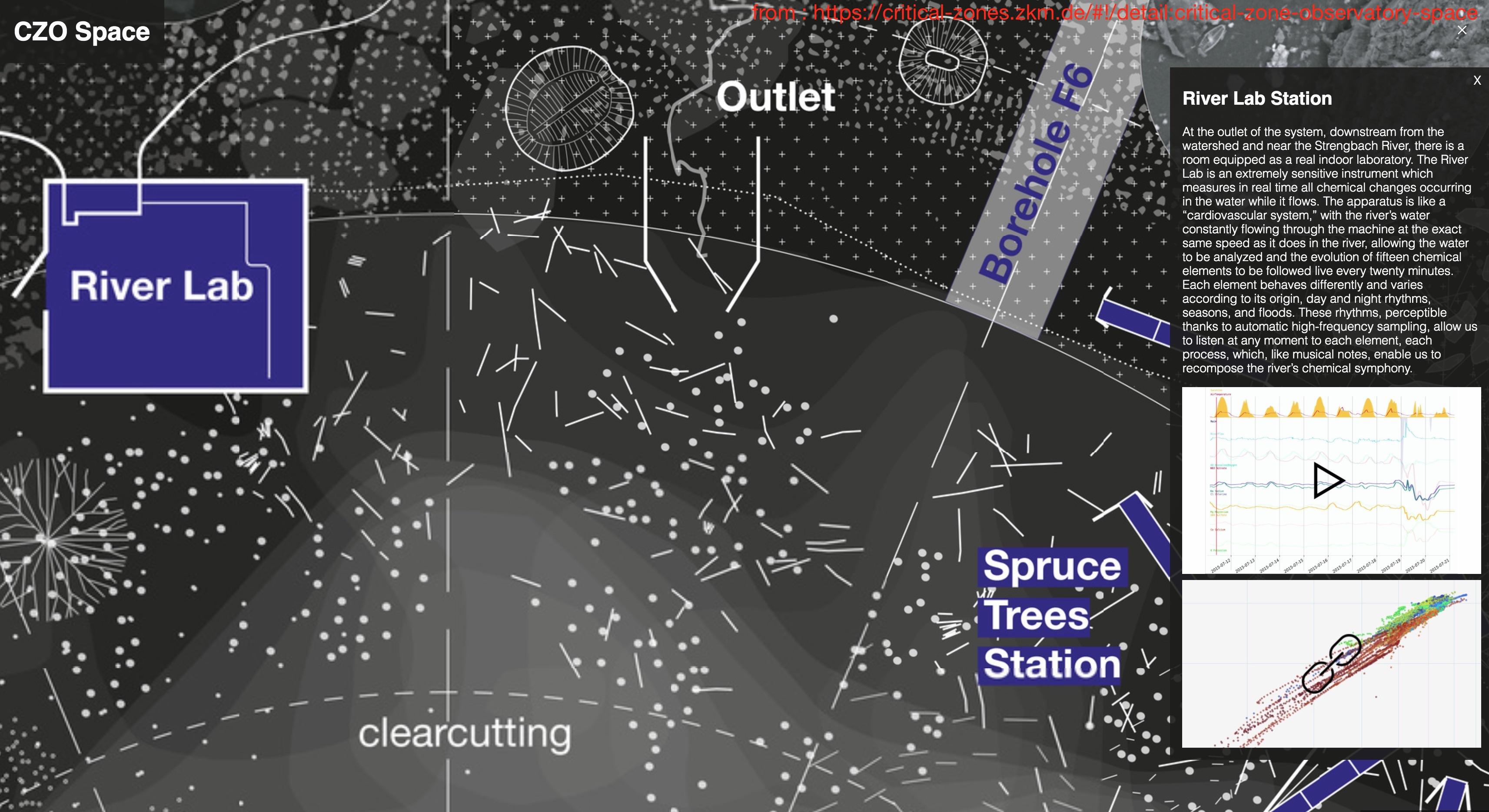 a screenshot of online version, a map made by Alexandra Arènes