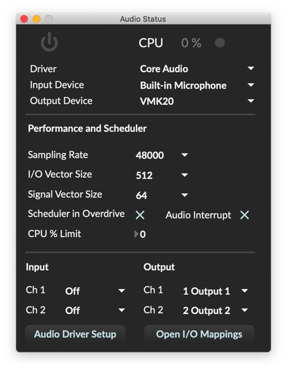 Now Max dies when I try to start Audio.. trying to get Max to sound through bluetooth...strange