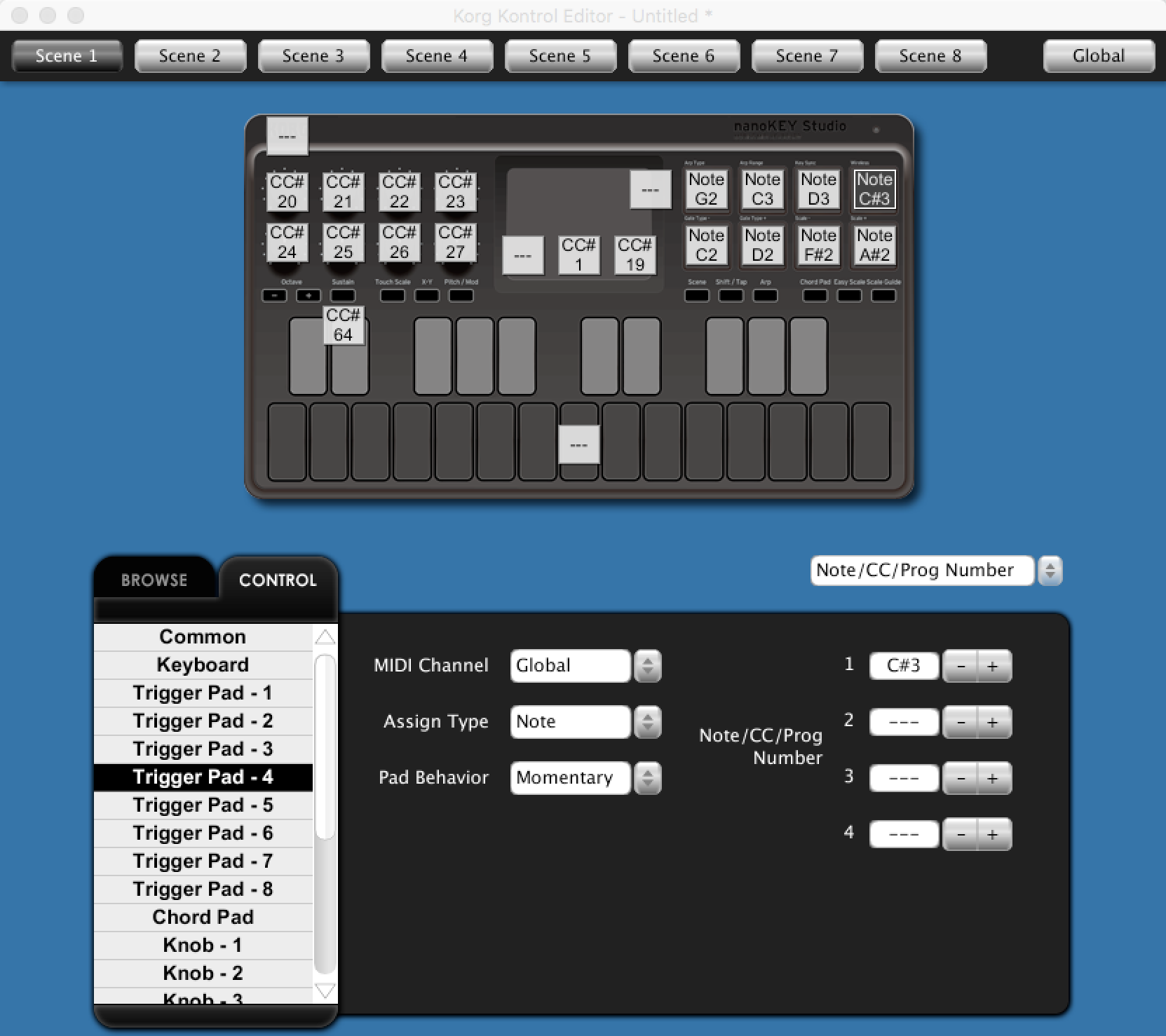 Article: Hardware Overview: Korg nanoKey Studio | Cycling '74