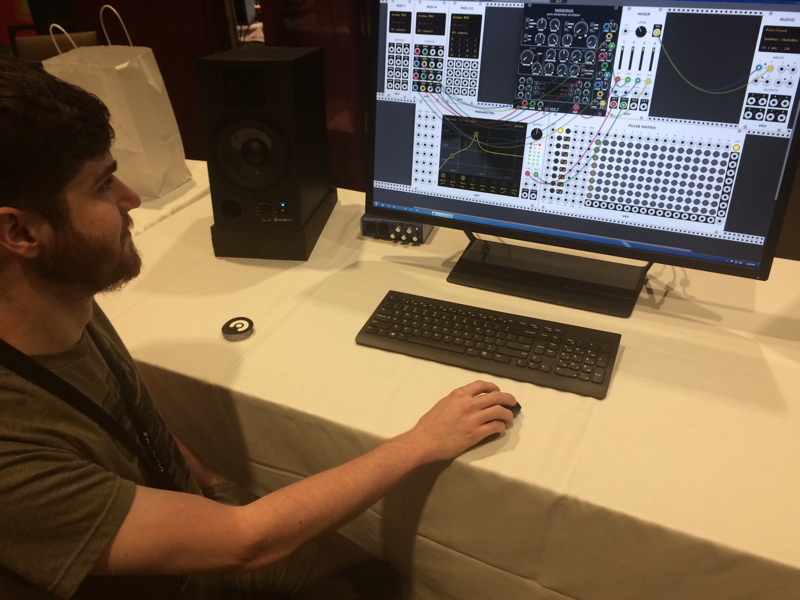 Andrew Belt files up a virtual Eurorack sequencer on steroids