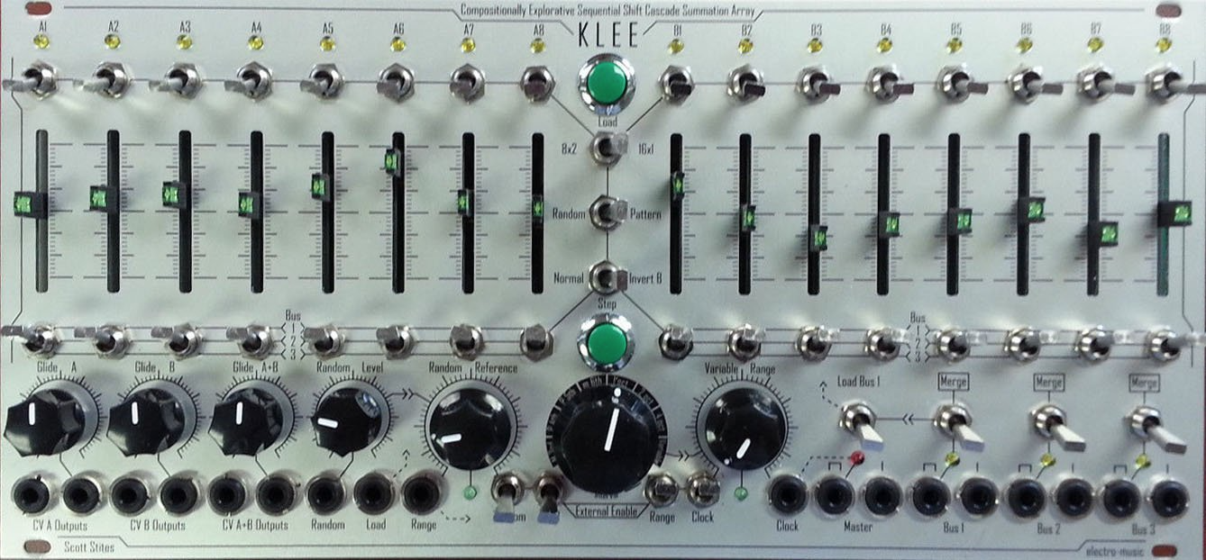 Software Hardware Overview Let Us Praise The Klee Sequencer