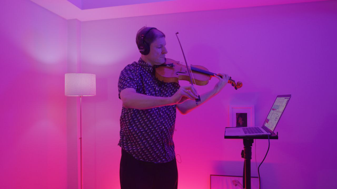 JANUS Live #2 – Richard Dudas, viola improv with Max 8