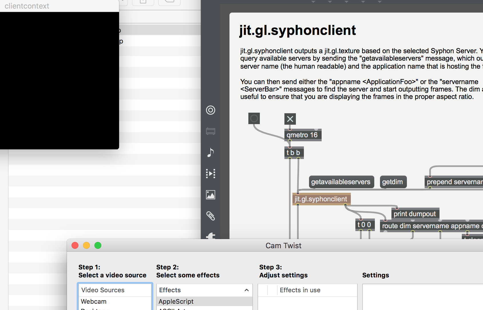 How to grab the screen on mac? - MaxMSP Forum | Cycling '74