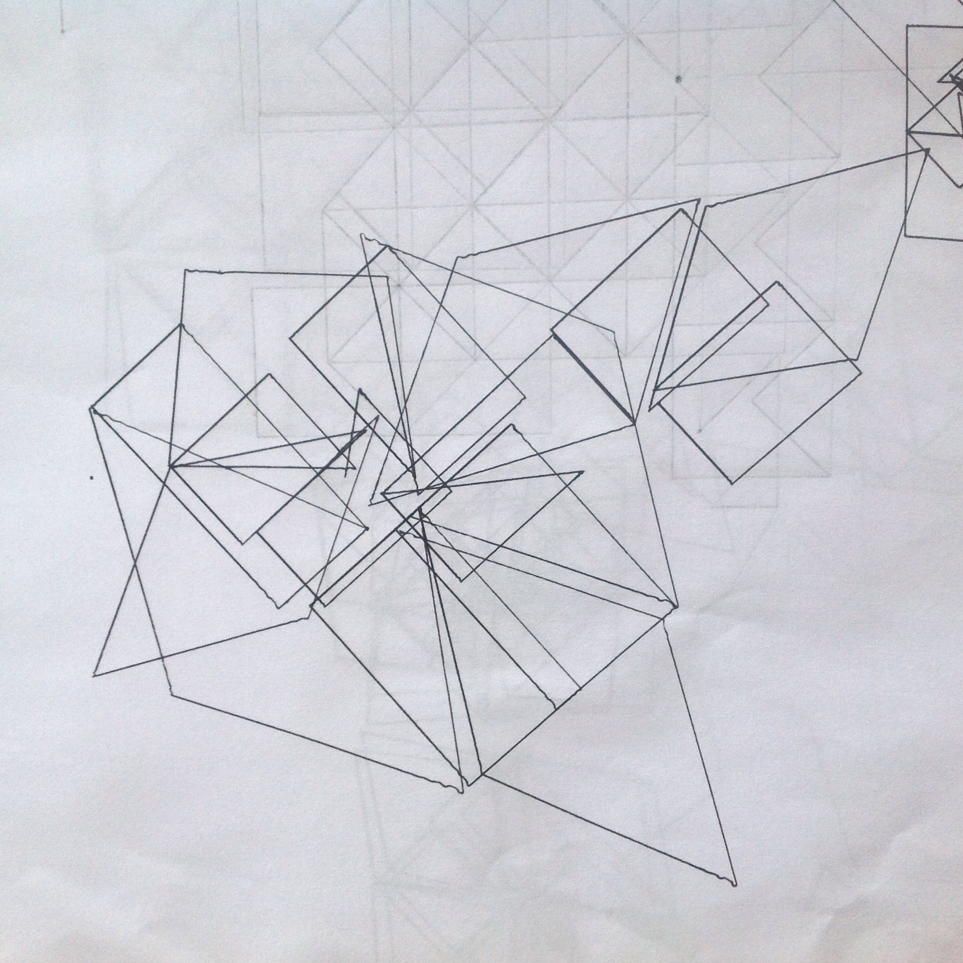 An Example of a Geometric Brain Drawing