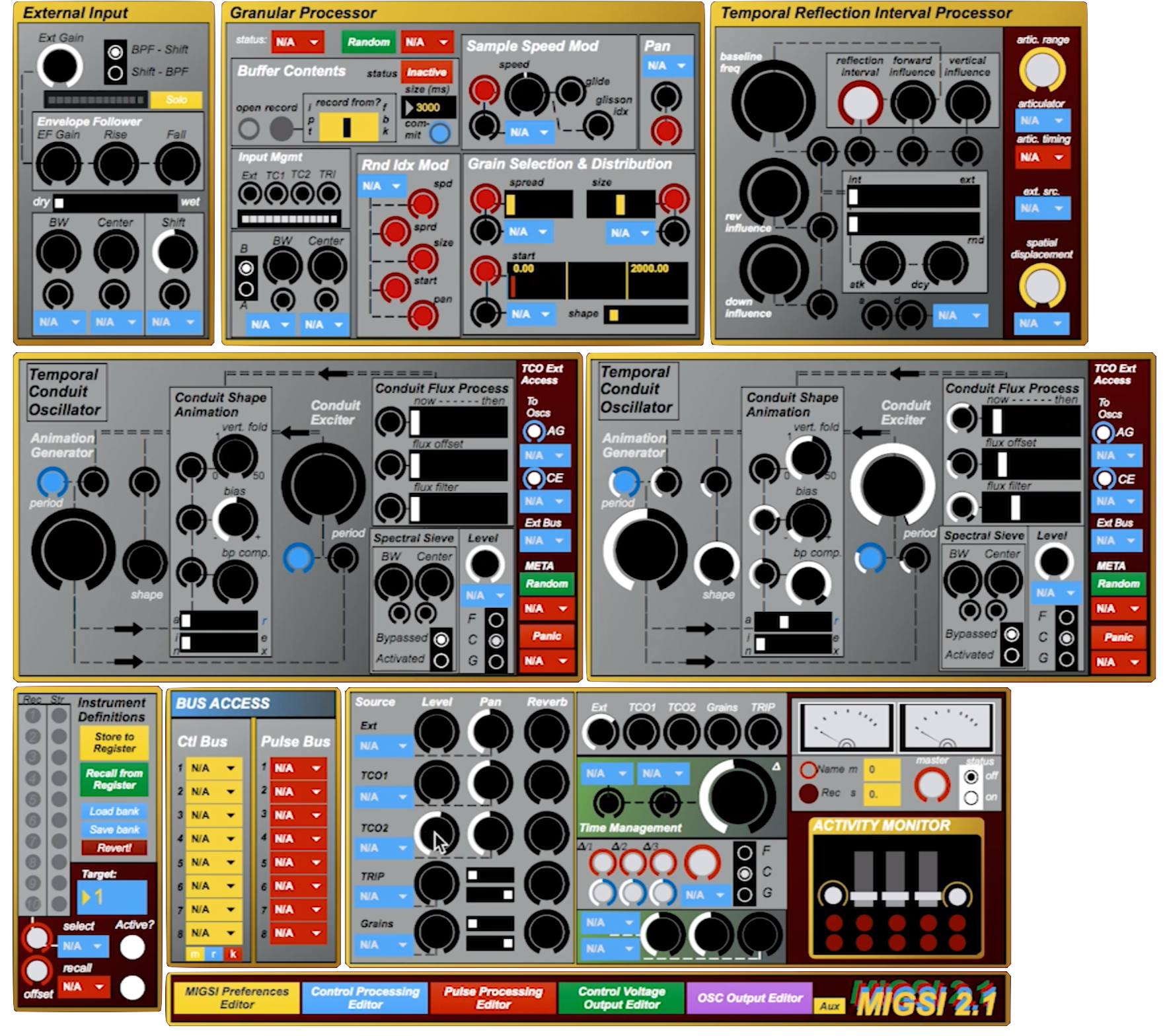 MIGSI's made-in-Max interface